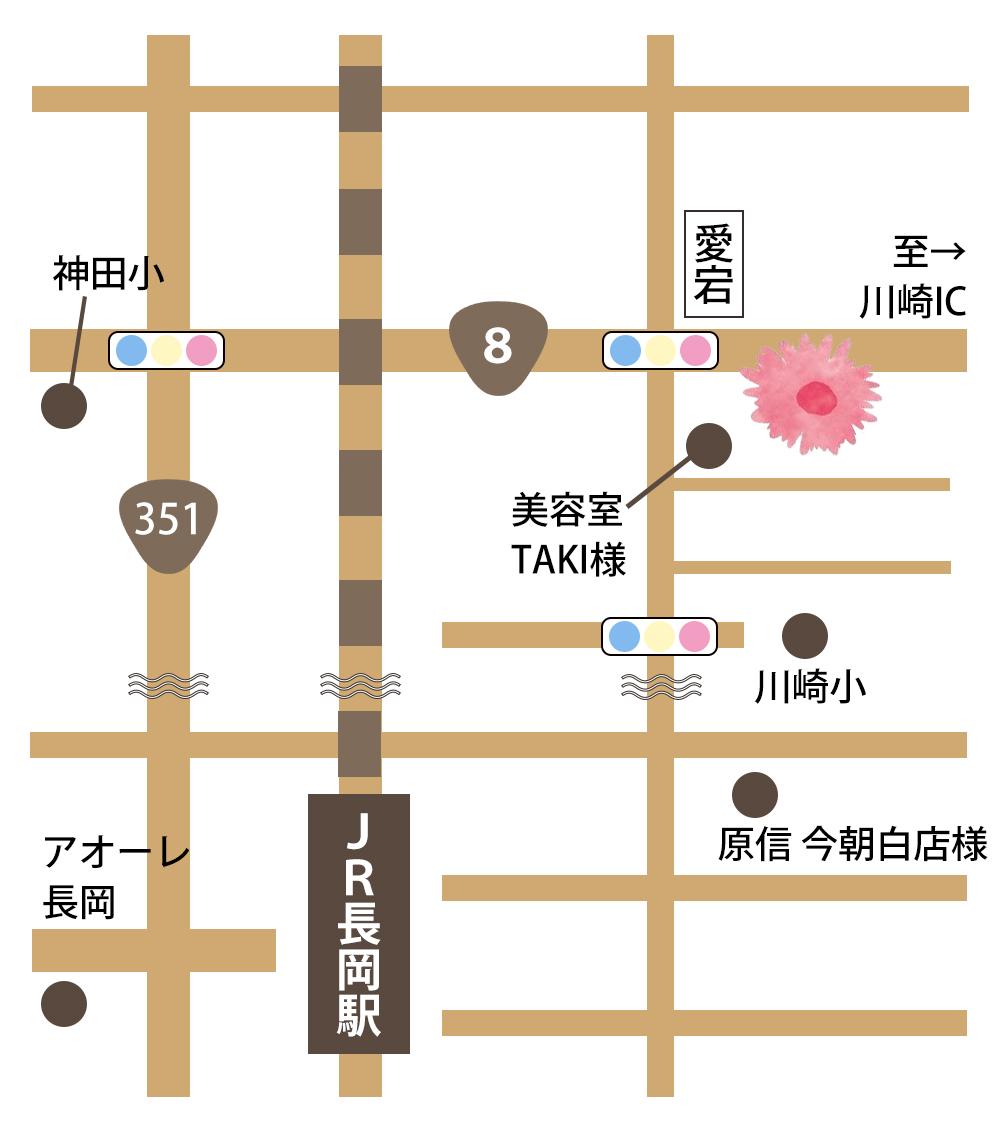 ハグライフ所在地 新潟県長岡市地蔵